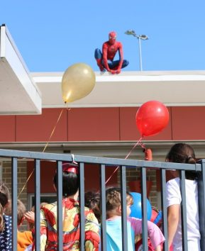 Spider-Man Rooftop Appearance