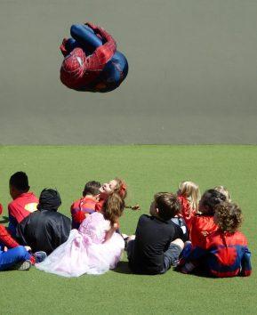 Spider-Man Flip Over Kids