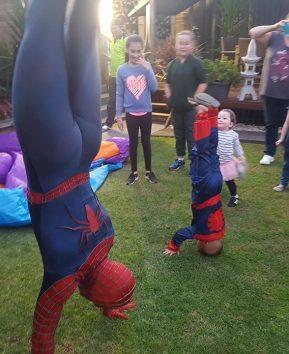 Spider-Man (with Spider-Boy)